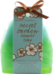 Savon éponge exfoliant Secret garden